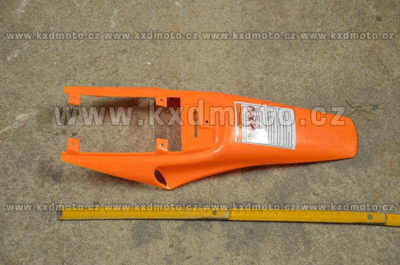 zadní blatník minicross typ1 - oranžová