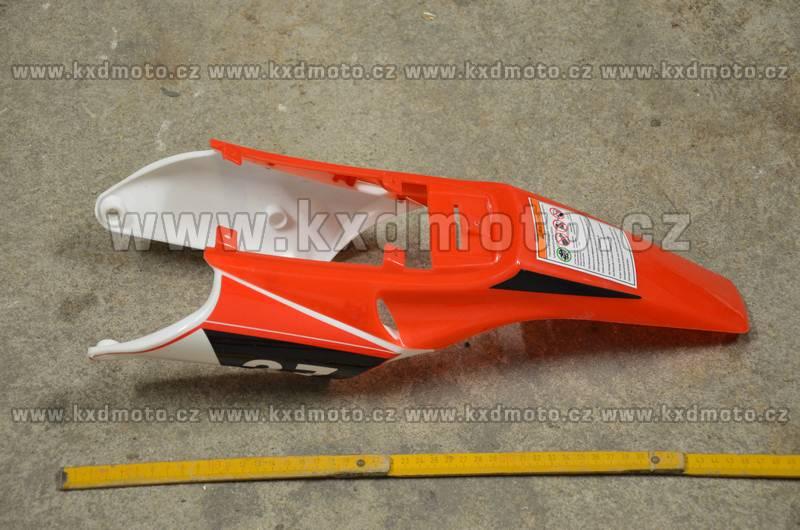 zadní blatník minicross typ1 + boční kryty - červená