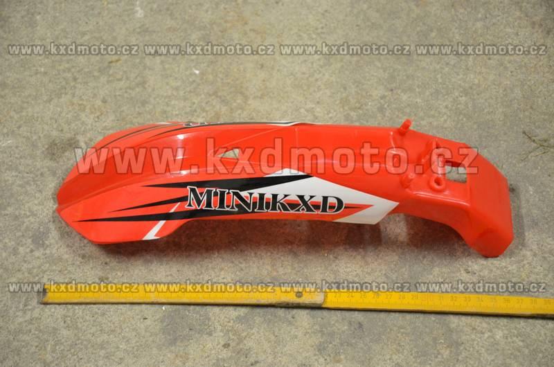 přední blatník minicross typ1 - červená