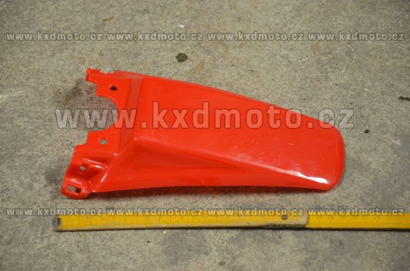 zadní blatník minicross typ3 - červená