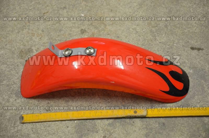 přední blatník minicross typ2 - červená