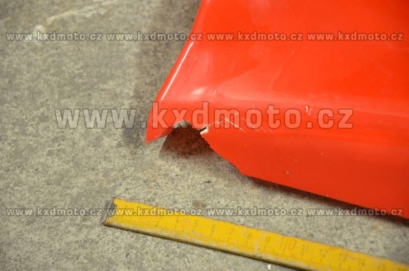 boční spodní plasty minibike - sada červená