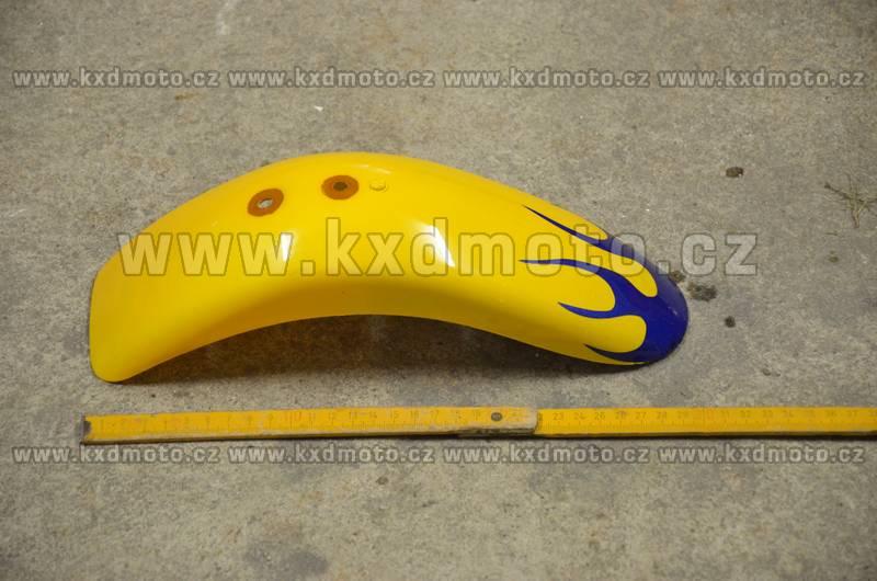 přední blatník minicross typ2 - žlutá