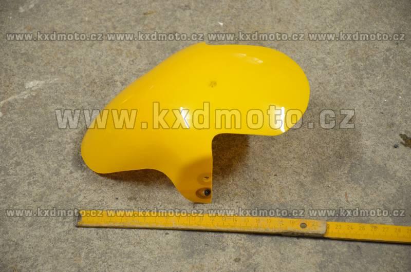 přední blatník minibike - žlutá