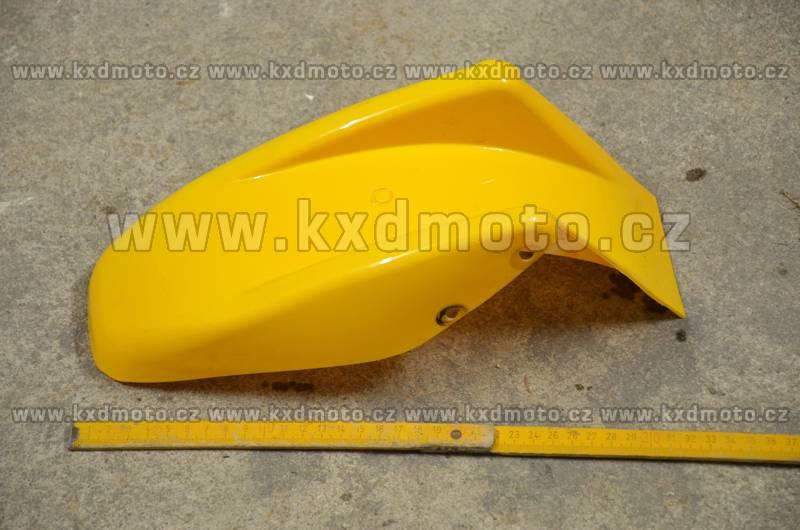 zadní blatník minibike - žlutá