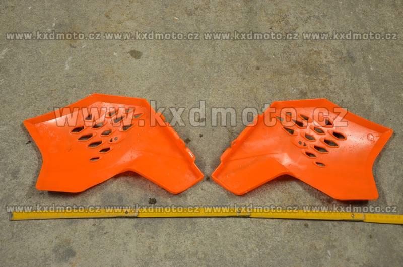 boční plasty minicross typ3 - oranžová