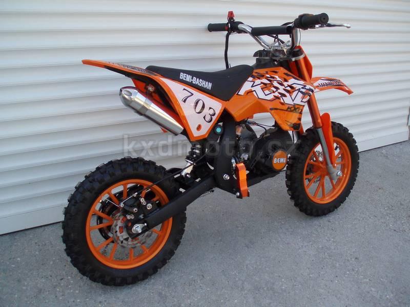 minicross KXD3 KaTM 703 - oranžová
