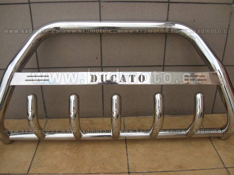 nerezový rám FIAT DUCATO 2006- homologace