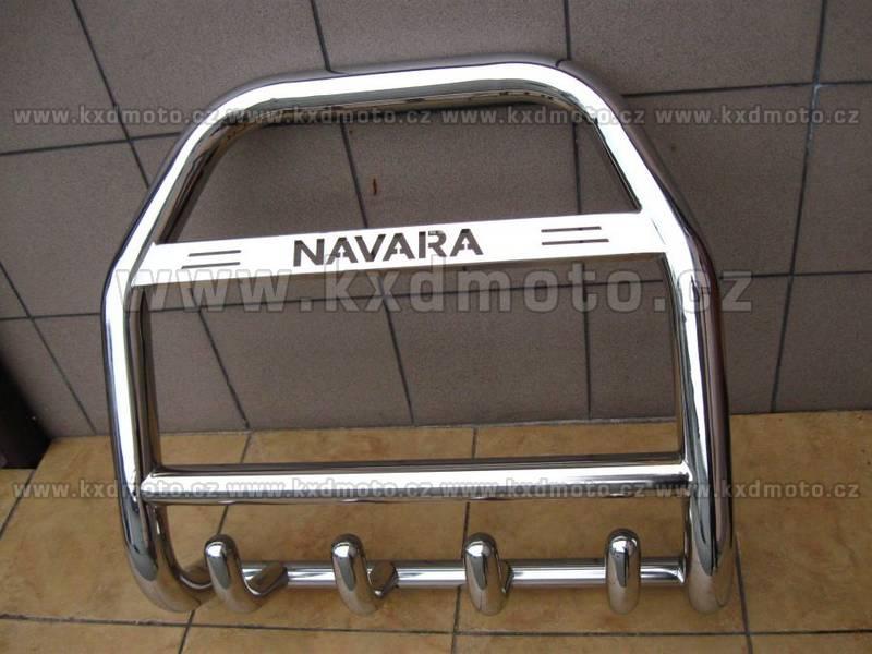 nerezový rám NISSAN NAVARA -09 homologace