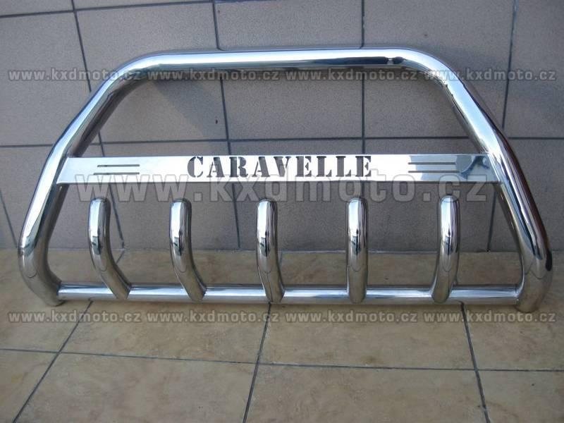 nerezový rám VW T4 CARAVELLE homologace