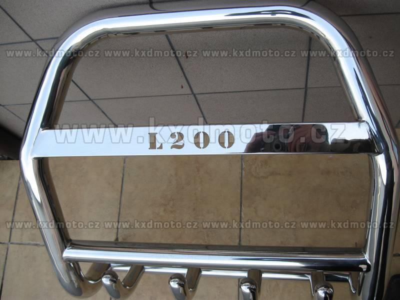 nerezový rám MITSUBISHI L 200 -2006 homologace