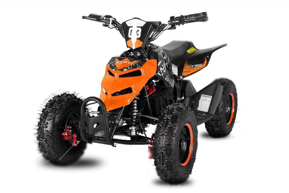 čtyřkolka Repti 800W 6kola - oranžová