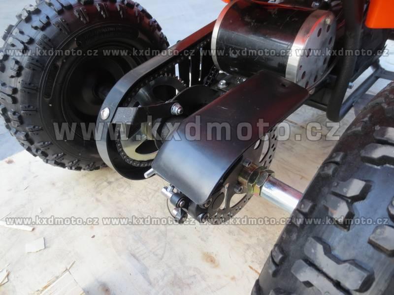čtyřkolka Hammer Torino 800W 6kola - oranžová