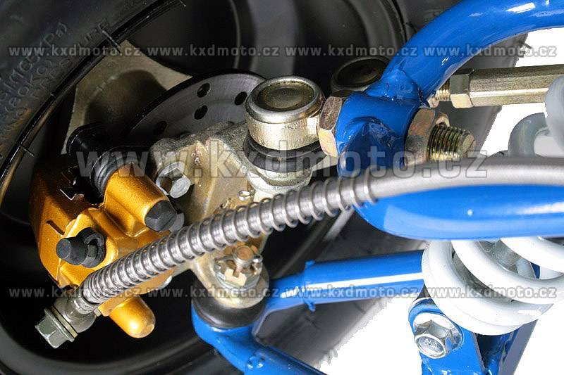 čtyřkolka RS Toronto 4T 125ccm 8 automat - modrá