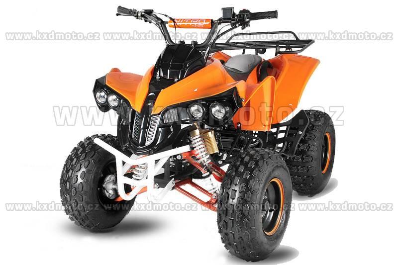 čtyřkolka atv Warior 4T 125ccm 8 - oranžová