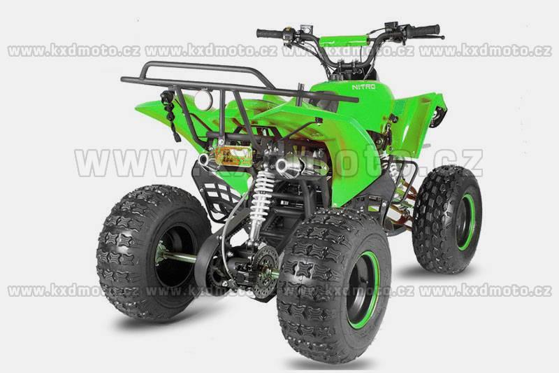 čtyřkolka atv Warior 4T 125ccm 8 - zelená