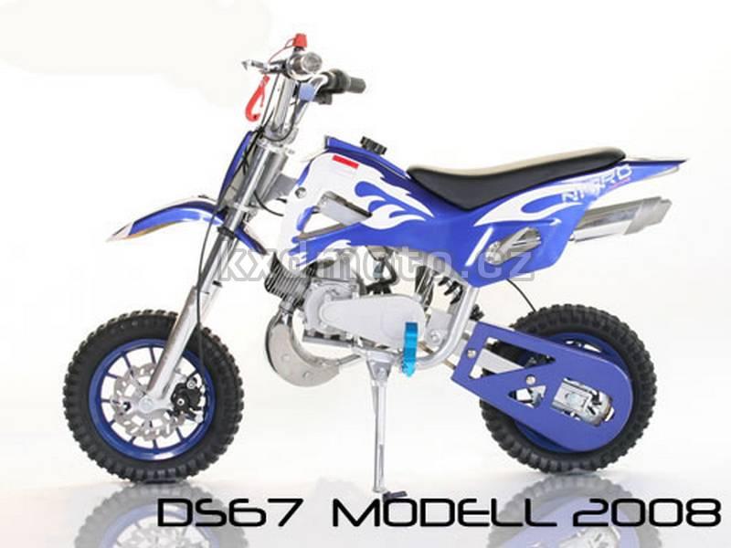 minicross DB67 - modrá