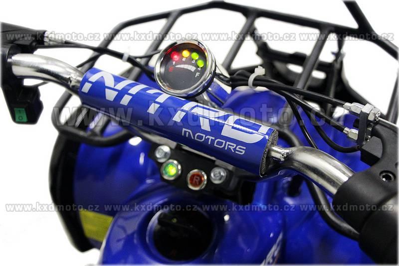 čtyřkolka nitro Torino 800W 6kola - modrá