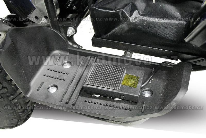 čtyřkolka nitro Torino 800W 6kola - oranžová
