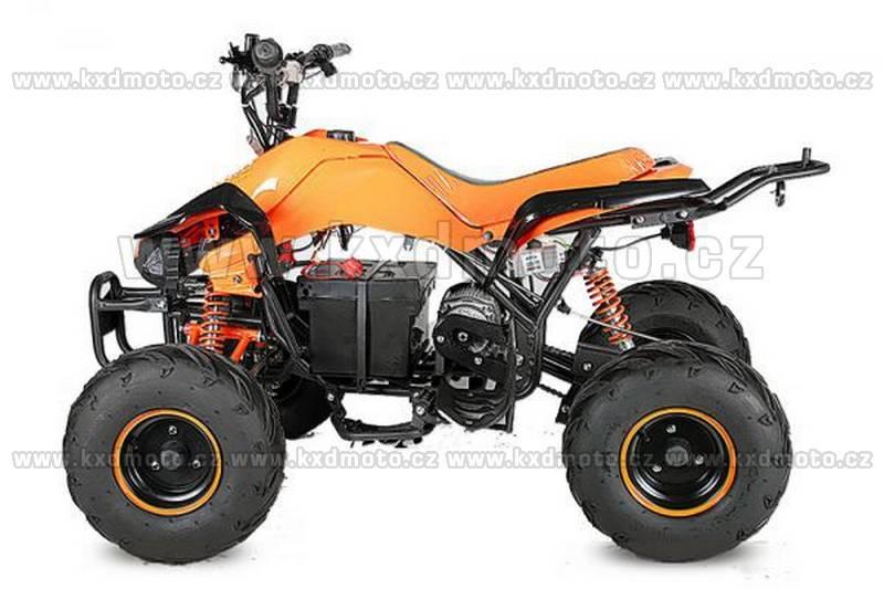 Nitro dětská elektrická čtyřkolka Speedy 1000W oranžová