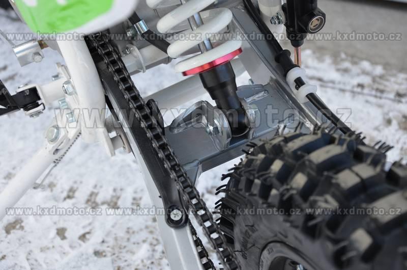 dirtbike nitro thunder cross MONSTER 125ccm 17/14 - oranžová