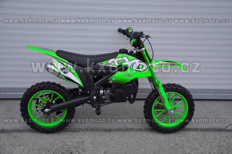 minicross Flash 2S 49cc - zelená