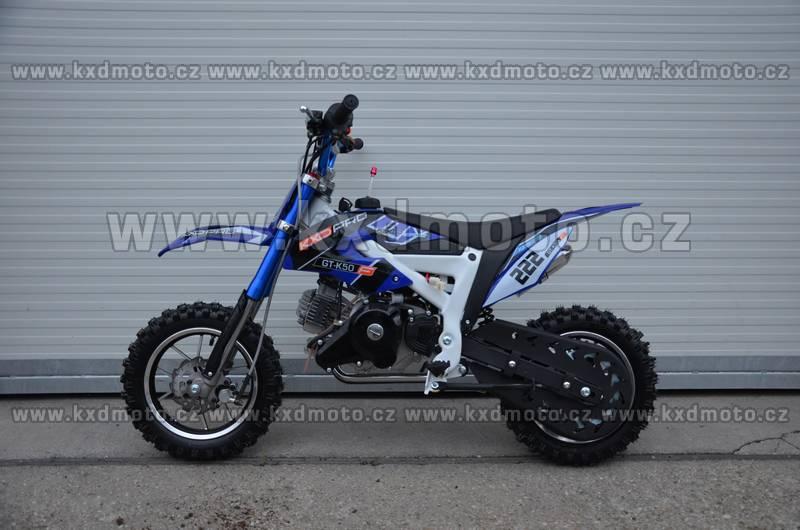 minicross KXD GT-K50 - modrá