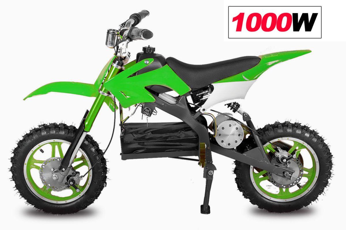 minicross apollo 1000W 10 kola - zelená