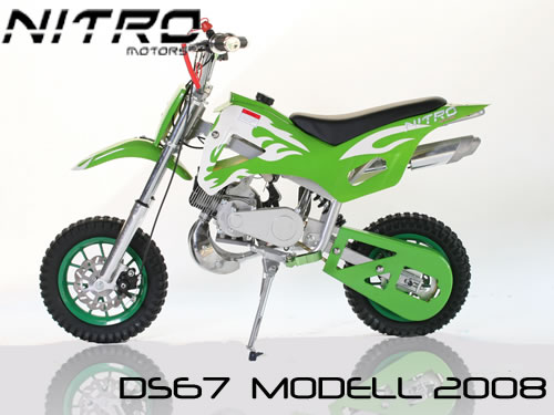 minicross DB67 - zelená