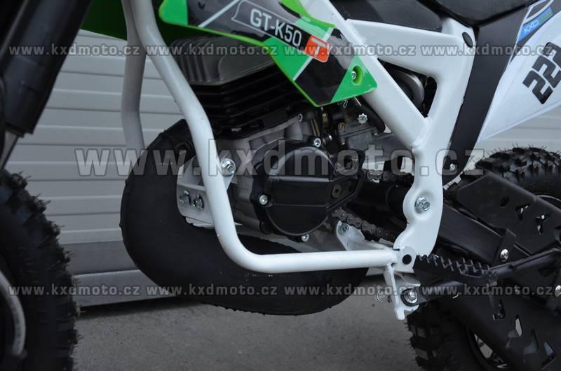 minicross NRG deluxe ráfky 12/10 - zelená