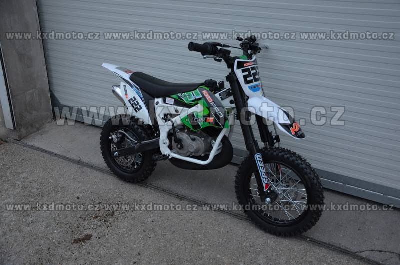 minicross NRG deluxe ráfky 12/10 - oranžová