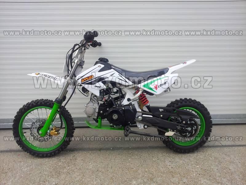 dirtbike 125ccm LONCIN 14/12 aut+el.start - zelená