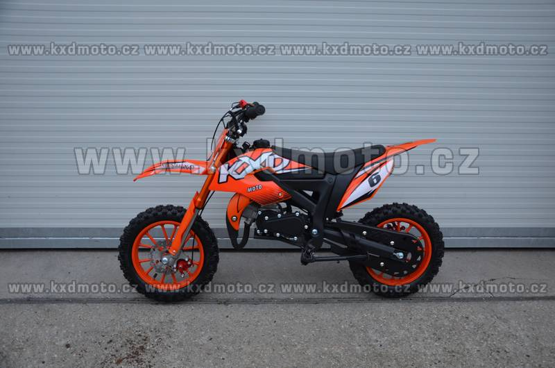 minicross Flash 2S 49cc - červená