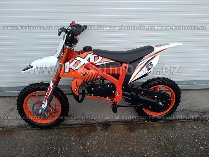 minicross 706A Flash 49cc - oranžová