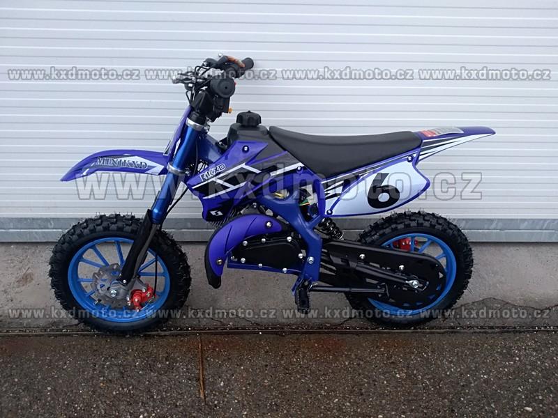 minicross 708A YMH el. startování - modrá