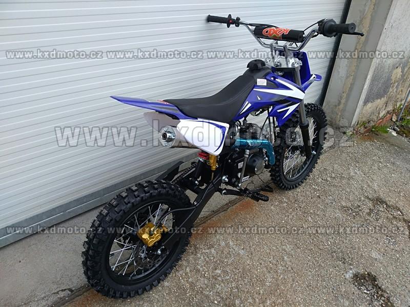 dirtbike 125ccm LONCIN 17/14 - modrá