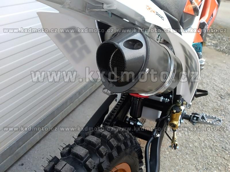 dirtbike GT-K125 edice KXDPRO 125ccm kola 17x14 - zelená
