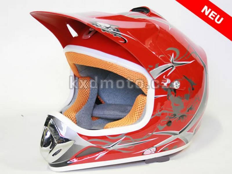 Dětská helma Xtreme - červená