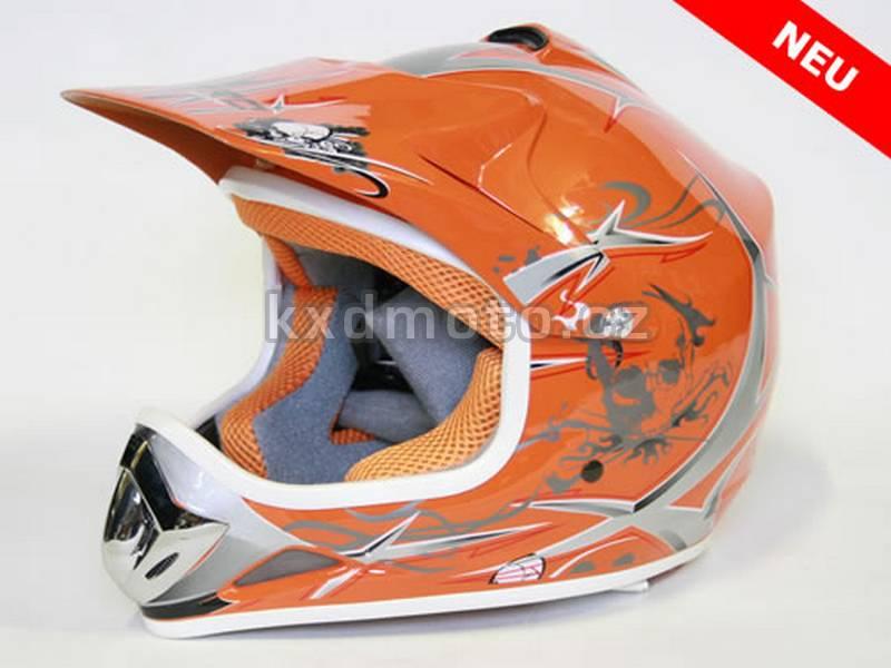 Dětská helma Xtreme - oranžová