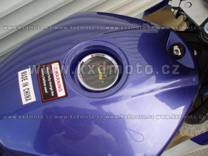 elektro minibike eco 800w - modrá