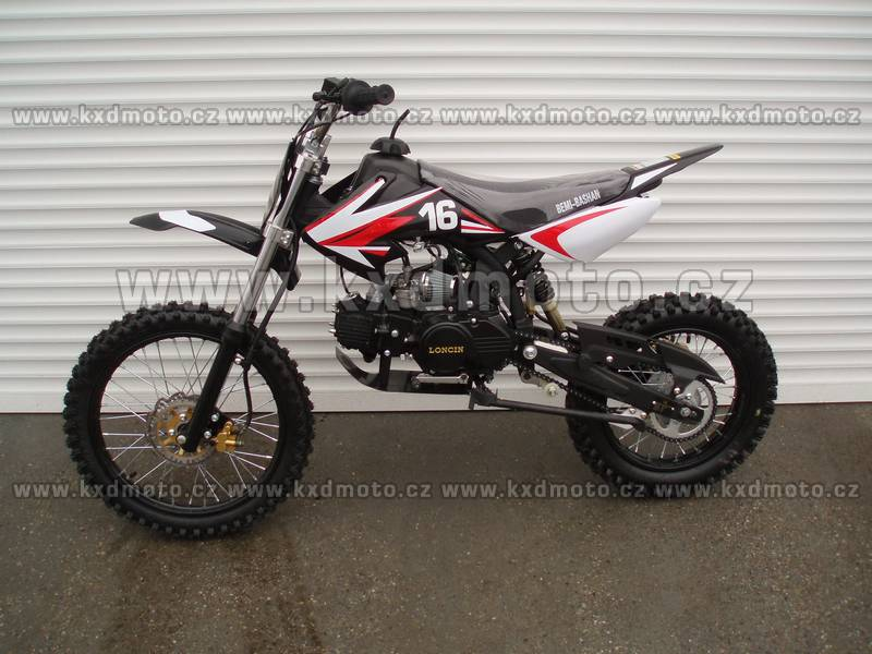 dirtbike 125ccm LONCIN 17/14 - černá