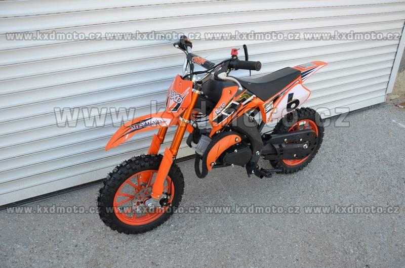 minicross YMH - oranžová