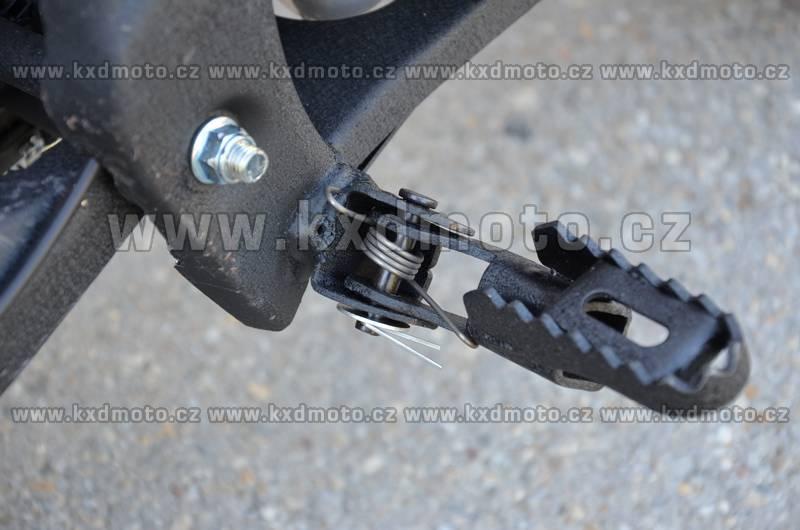 minicross KXD708 - oranžová